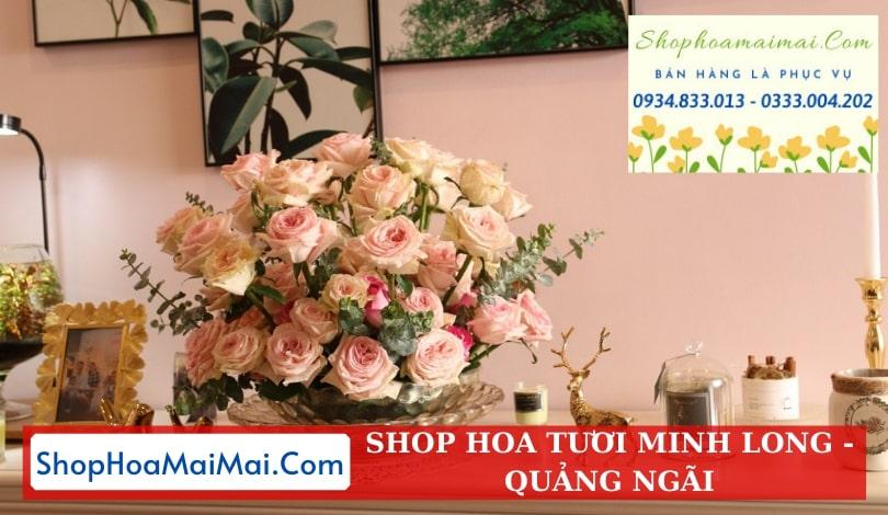 Cắm Hoa Theo Mẫu Tại Quảng Ngãi