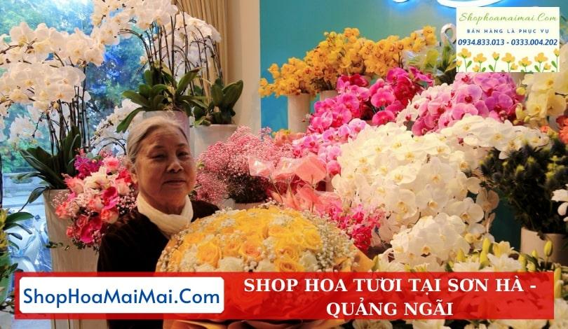 Tiệm Hoa Tươi Tại Sơn Hà
