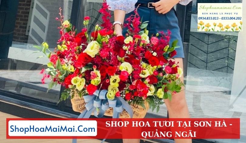 Dịch Vụ Ship Hoa Tươi Sơn Hà