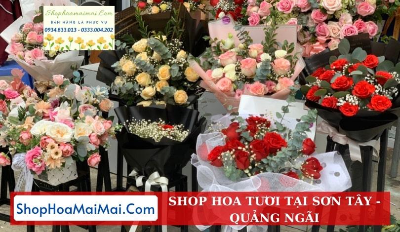 Shop Hoa Tươi Tại Sơn Tây