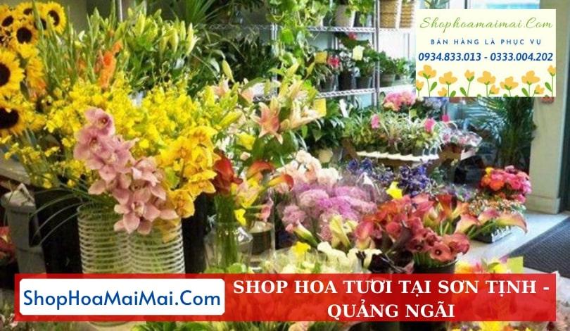 Shop Hoa Tươi Tại Sơn Tịnh