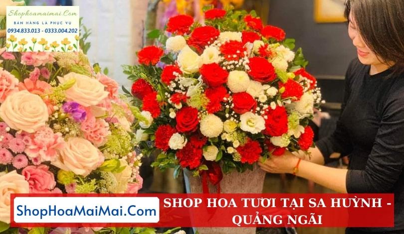 Tiệm Hoa Khai Trương Quảng Ngãi