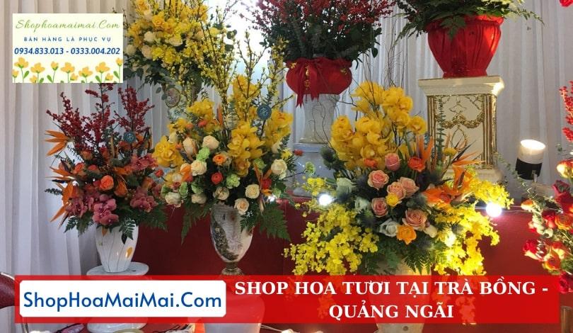 Shop Hoa Tươi Tại Trà Bồng