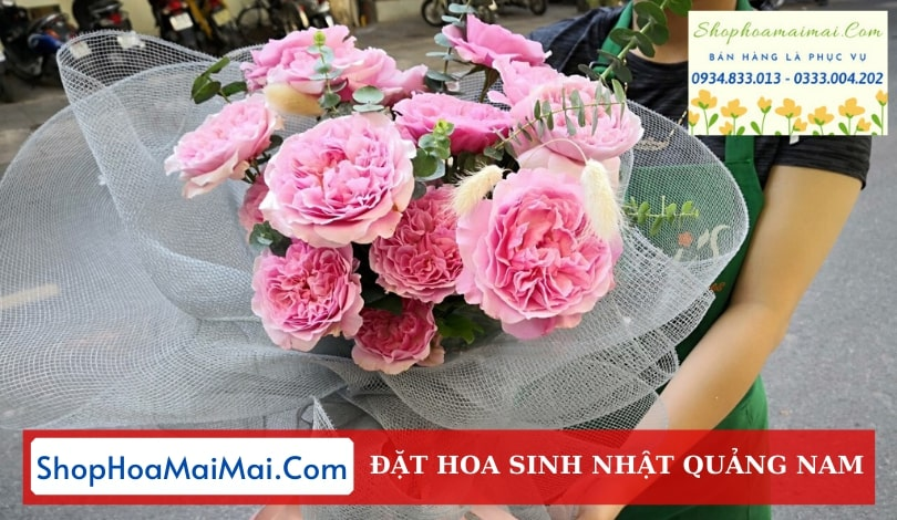 Mua Hoa Sinh Nhật Online Quảng Nam