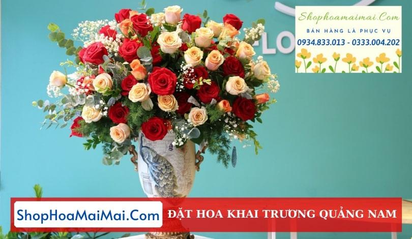 Đặt Hoa Khai Trương Quảng Nam
