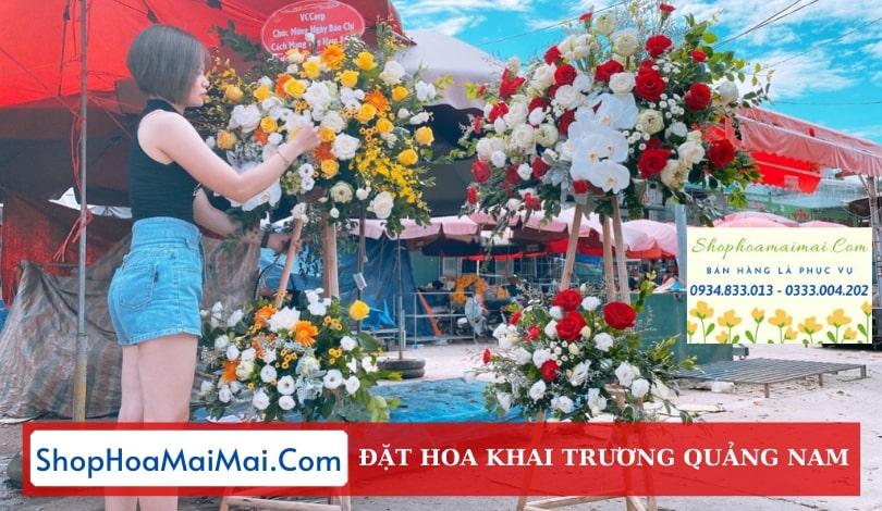 Tiệm Hoa Khai Trương Quảng Nam