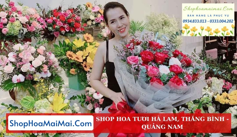Shop Hoa Tươi Tại Hà Lam