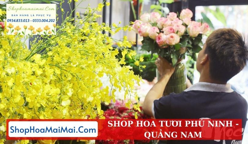 Shop Hoa Tươi Tại Phú Ninh