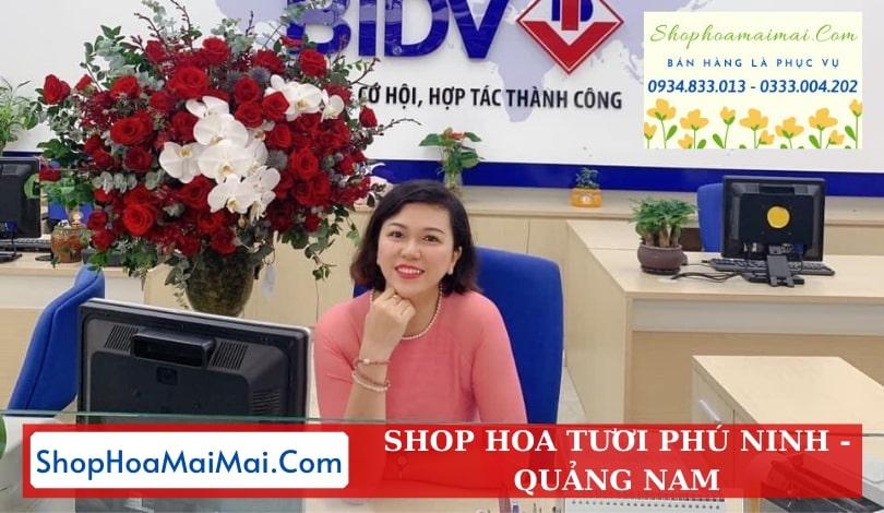 Dịch Vụ Ship Hoa Tươi Tại Phú Ninh