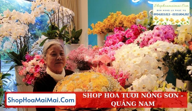 Shop Hoa Tươi Tại Nông Sơn
