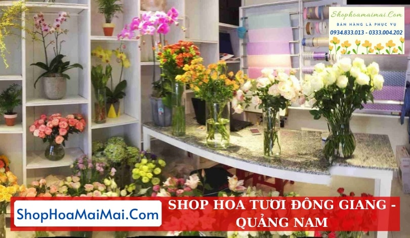 Cửa Hàng Hoa Tươi Đông Giang