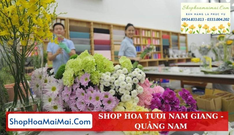 Cửa Hàng Hoa Tươi Nam Giang