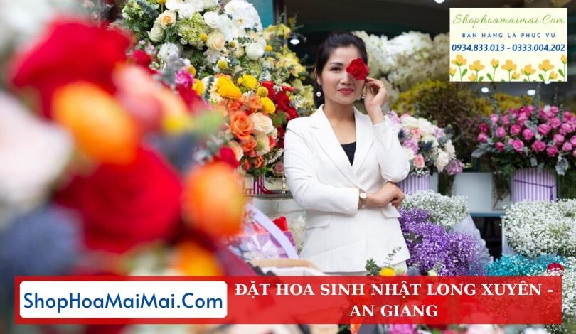 Cửa Hàng Hoa Sinh Nhật Long Xuyên