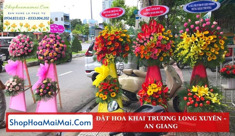 Cửa Hàng Hoa Khai Trương An Giang