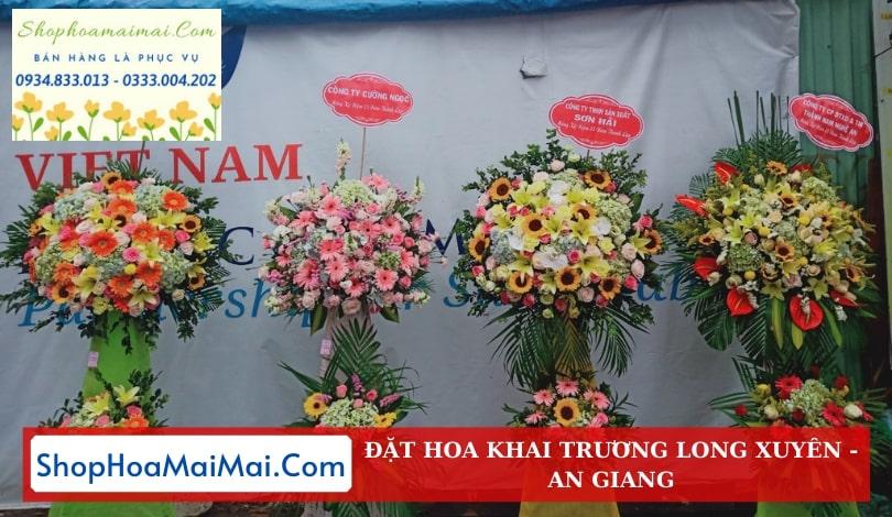 Dịch Vụ Điện Hoa Khai Trương An Giang