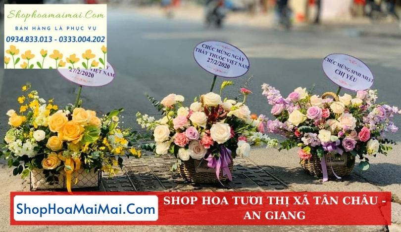 Shop Hoa Tươi Thị Xã Tân Châu