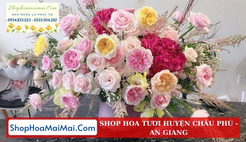 Shop Hoa Tươi Tại An Giang