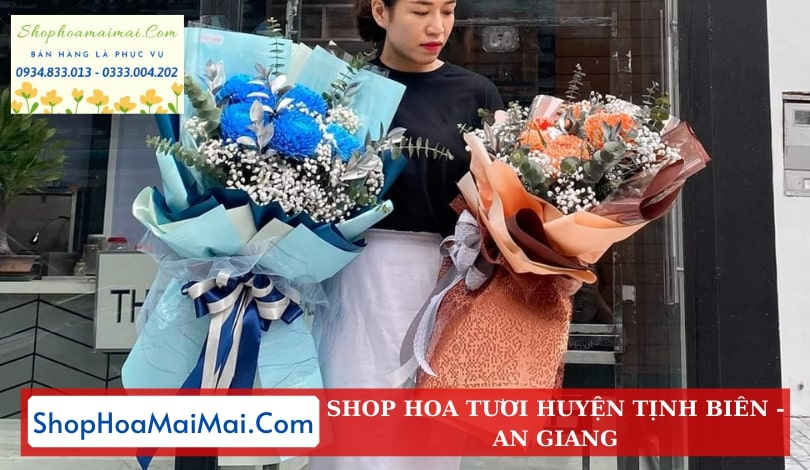 Đặt Hoa Tươi Online Huyện Tịnh Biên