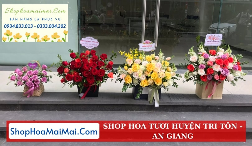 Cửa Hàng Hoa Tươi Huyện Tri Tôn