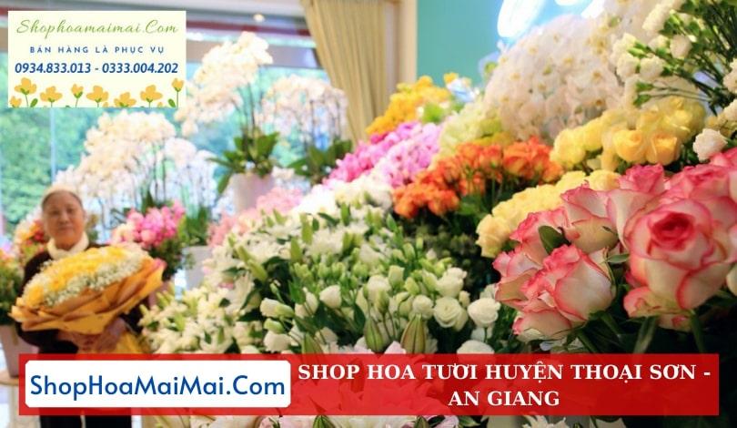 Cửa Hàng Hoa Huyện Thoại Sơn