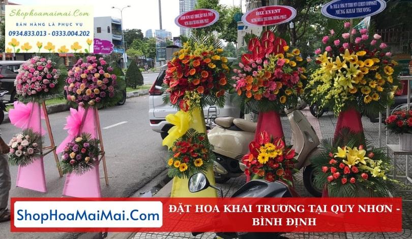 Shop Hoa Khai Trương Quy Nhơn
