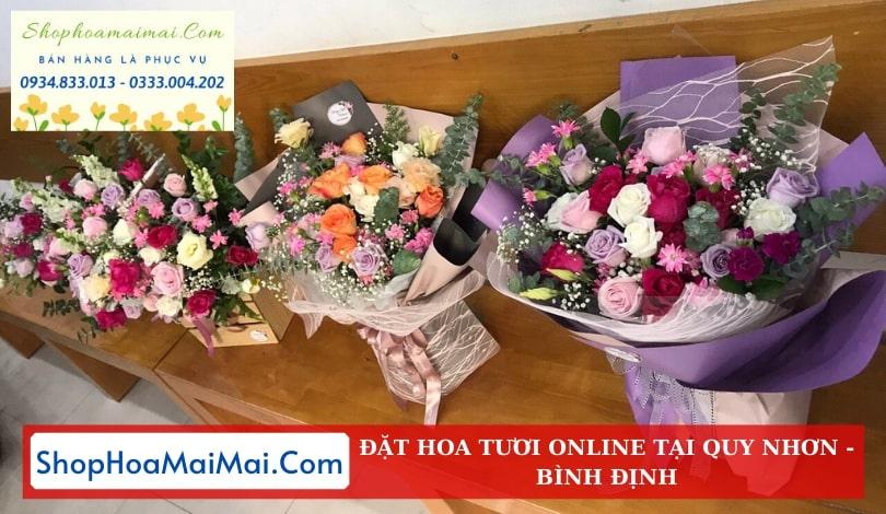 Điện Hoa Sinh Nhật Tại Bình Định