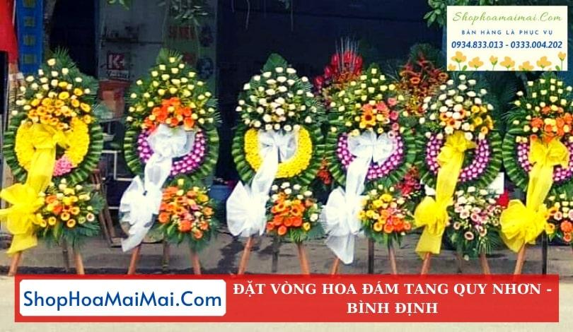 Cửa Hàng Hoa Tang Lễ Quy Nhơn