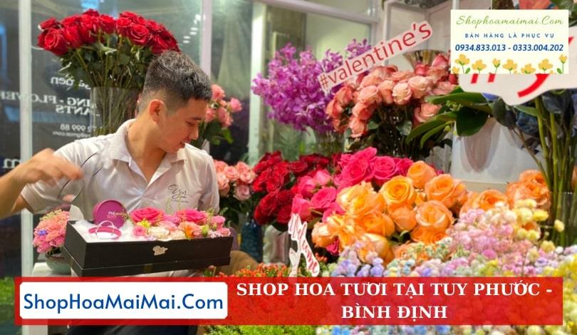 Cửa Hàng Hoa Tại Tuy Phước