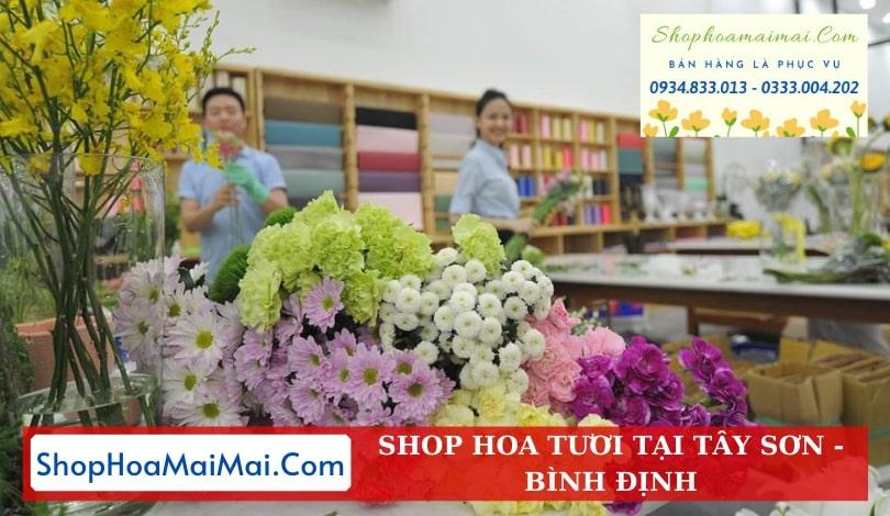 Shop Hoa Tươi Tại Tây Sơn