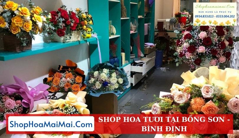 Shop Hoa Tươi Chất Lượng Bồng Sơn