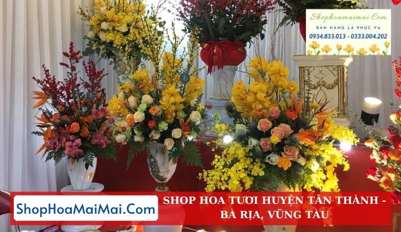 Shop Hoa Tươi Huyện Tân Thành