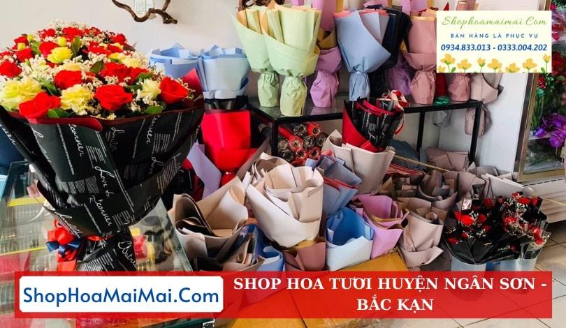 Cửa Hàng Hoa Tươi Huyện Ngân Sơn