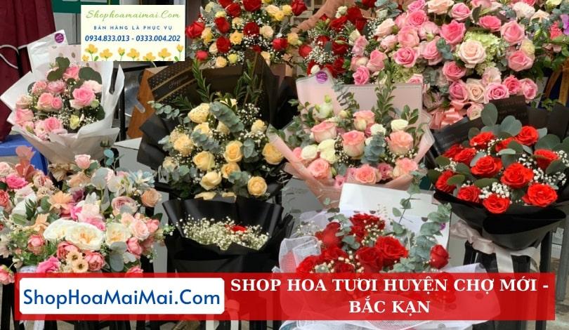 Cửa Hàng Hoa Huyện Chợ Mới