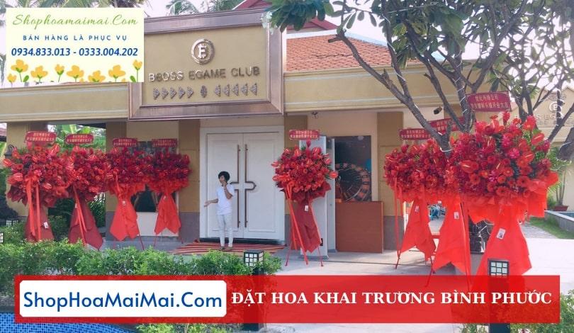 Cửa Hàng Hoa Khai Trương Bình Phước