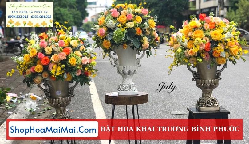 Đặt Lẵng Hoa Khai Trương Bình Phước