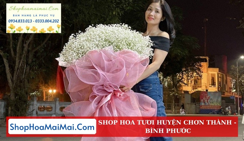 Shop Hoa Tươi Tại Huyện Chơn Thành