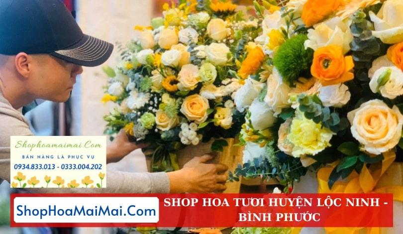 Cửa Hàng Hoa Tươi Huyện Lộc Ninh