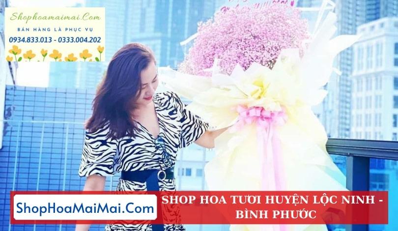 Đặt Hoa Tươi Online Huyện Lộc Ninh