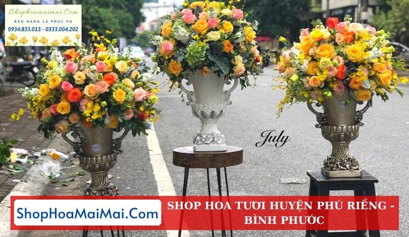 Tiệm Hoa Tươi Huyện Phú Riềng