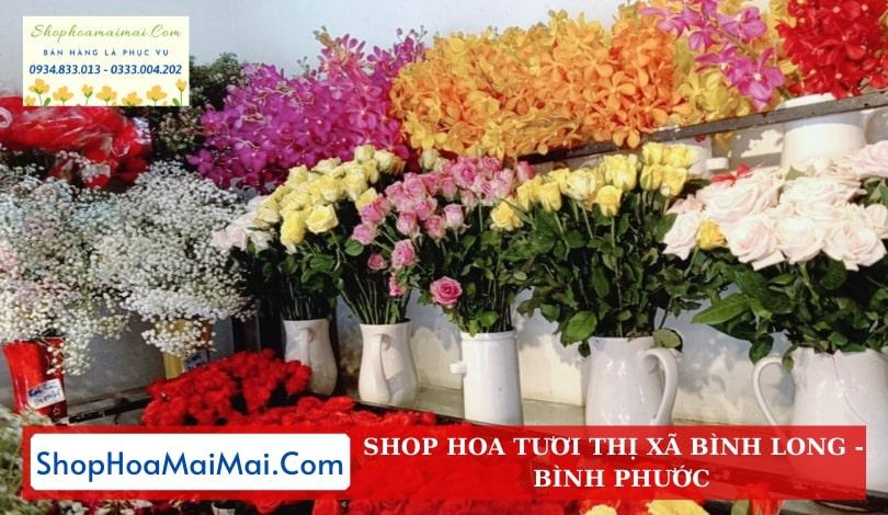Cửa Hàng Hoa Thị Xã Bình Long