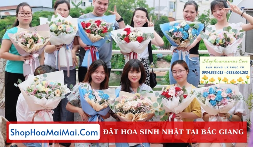 Cửa Hàng Hoa Sinh Nhật Bắc Giang