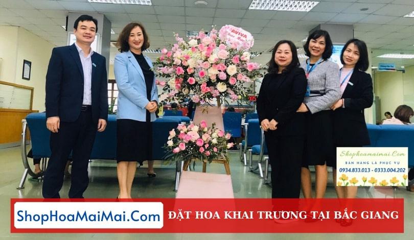 Shop Hoa Khai Trương Tại Bắc Giang