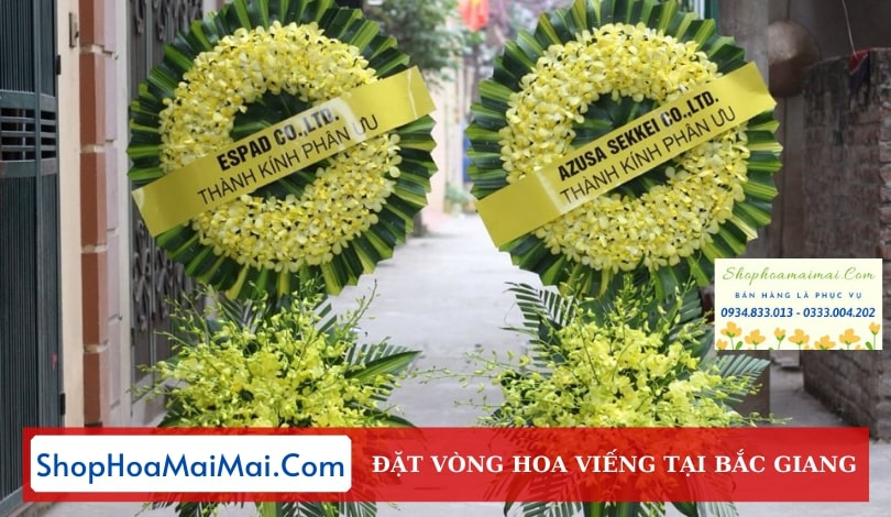 Đặt Vòng Hoa Đám Tang Tại Bắc Giang