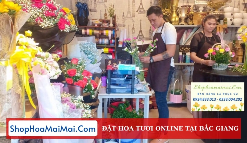 Cửa Hàng Hoa Tươi Tại Bắc Giang