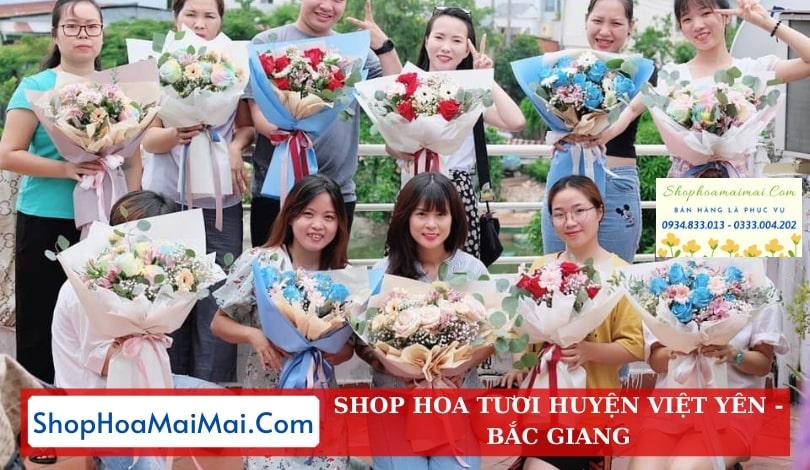 Tiệm Hoa Tươi Huyện Việt Yên