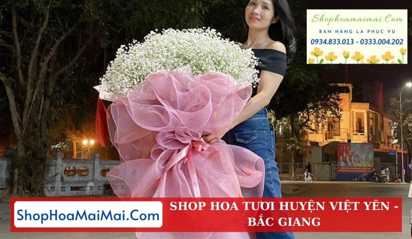 Đặt Hoa Tươi Online Huyện Việt Yên