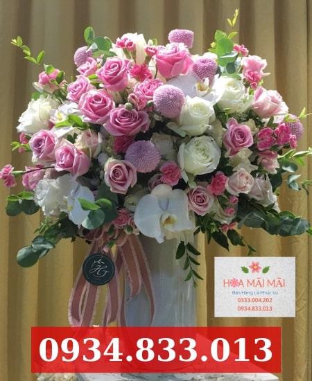 Cắm Hoa Theo Mẫu Tại Bắc Giang