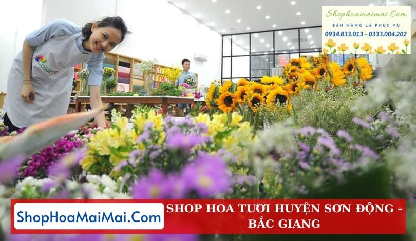 Cửa Hàng Hoa Tươi Huyện Sơn Động
