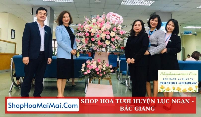Cửa Hàng Hoa Khai Trương Huyện Lục Ngạn