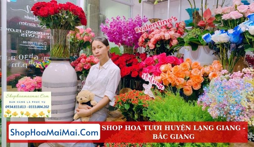 Cửa Hàng Hoa Tươi Huyện Lạng Giang